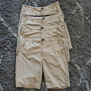 Four Boys Hybrid uniform Kahki Shorts.